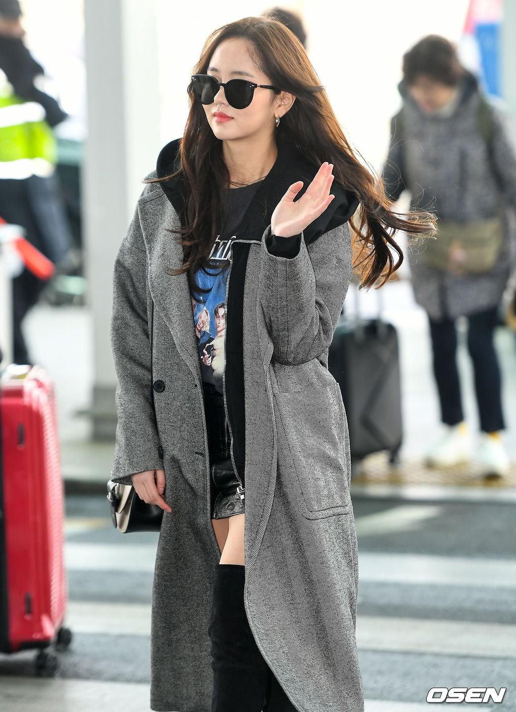 Đi sân bay thôi mà hot đến tận hôm nay, Kim So Hyun đang khiến dân tình bấn loạn vì đôi chân cực phẩm - Ảnh 6.