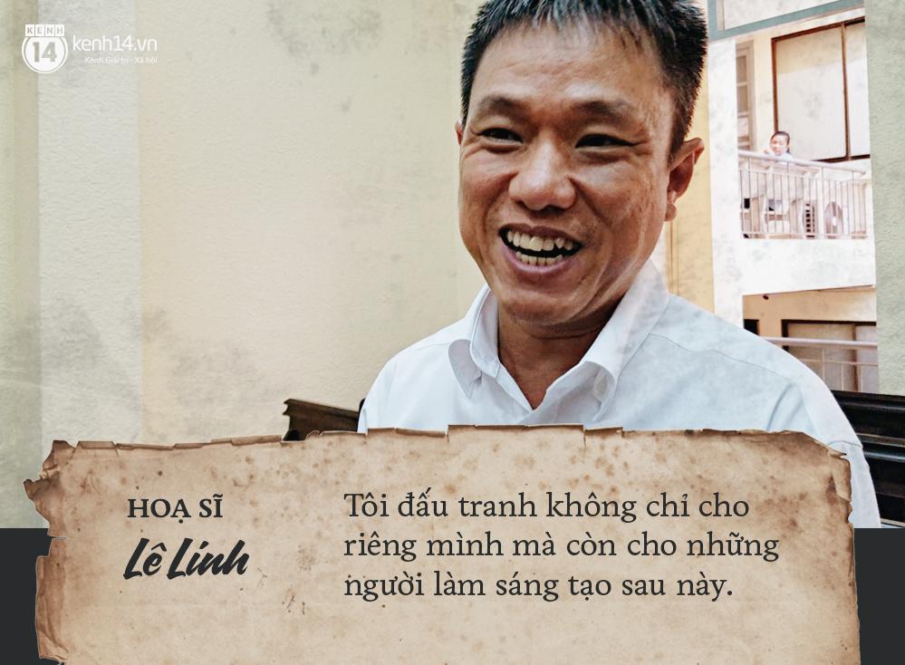 Họa sĩ Lê Linh chia sẻ sau khi thắng kiện vụ Thần đồng đất Việt: Từ khi vẽ nên Trạng Tí, tôi luôn tin cái thiện sẽ chiến thắng - Ảnh 3.