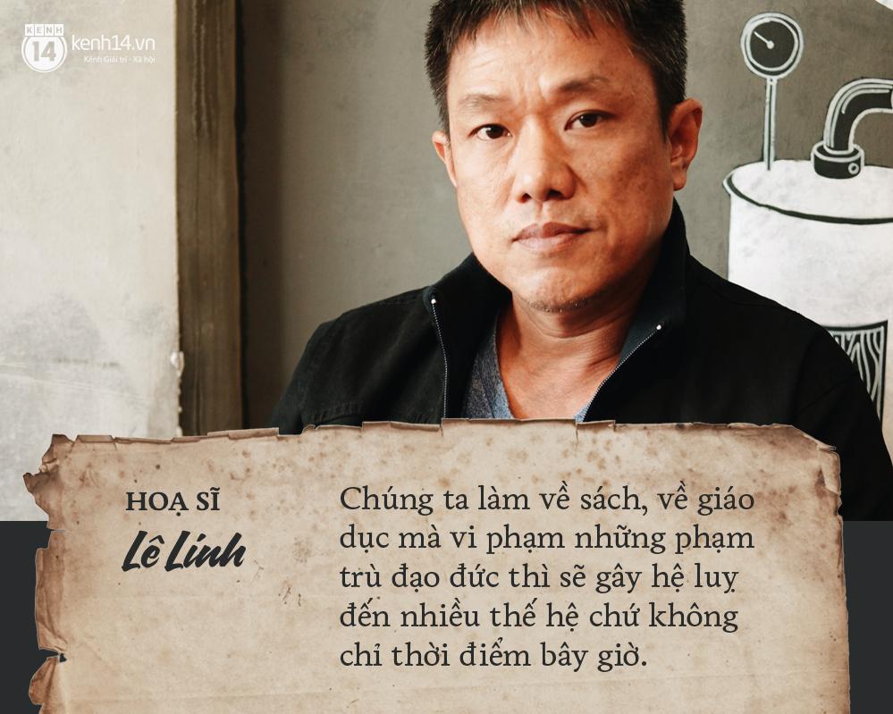 Họa sĩ Lê Linh chia sẻ sau khi thắng kiện vụ Thần đồng đất Việt: Từ khi vẽ nên Trạng Tí, tôi luôn tin cái thiện sẽ chiến thắng - Ảnh 4.