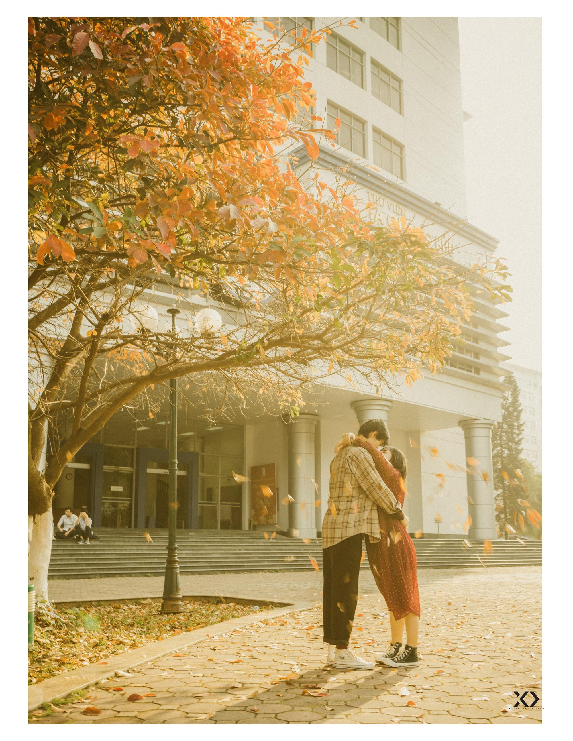 """Không ngờ có một Bách Khoa tình đến thế trong bộ ảnh của cặp đôi gái Xây dựng trai Kiến trúc - Ảnh 3. Có một Bách Khoa """"tình"""" đến thế trong bộ ảnh của cặp đôi gái Xây dựng trai Kiến trúc"""
