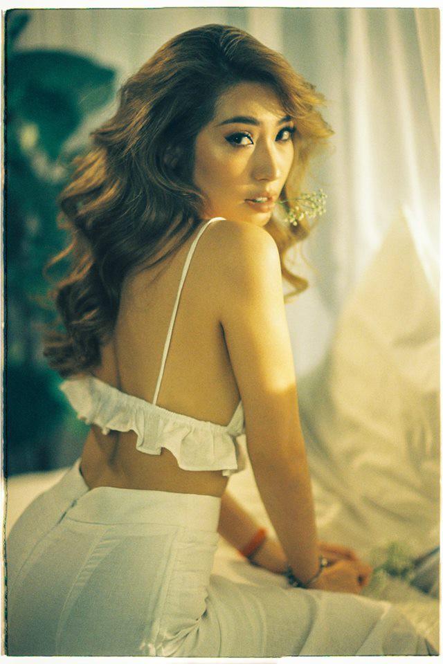 Khổng Tú Quỳnh và loạt sao nữ lột xác xinh đẹp, gợi cảm hơn sau chuyện buồn tình cảm - Ảnh 6.