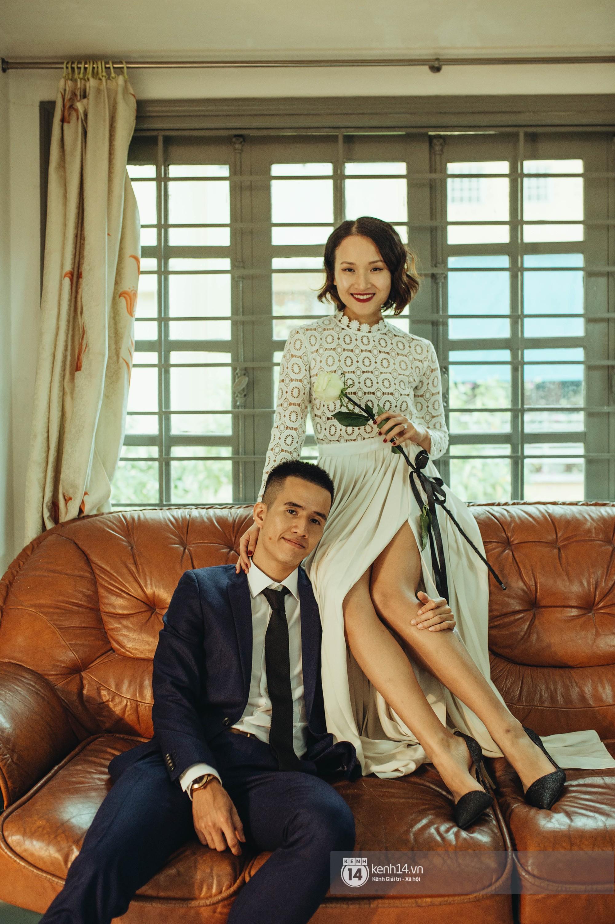 6 năm hẹn hò với bạn thân của hot Vlogger Giang Ơi khép lại bằng đám cưới giản dị nhưng đong đầy hạnh phúc - Ảnh 9.