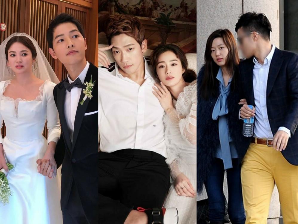 Đặt chồng của 3 mỹ nhân Song Hye Kyo, Kim Tae Hee, Jeon Ji Hyun lên bàn cân: Chênh lệch từ gia thế tới ngoại hình - Ảnh 1.