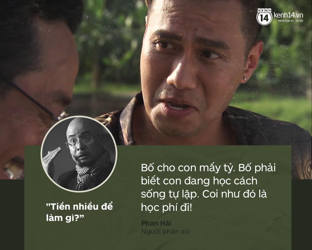 Lắng nghe 5 nhân vật đình đám màn ảnh Việt trả lời câu Tiền nhiều để làm gì? từ Vua cà phê - Ảnh 3.