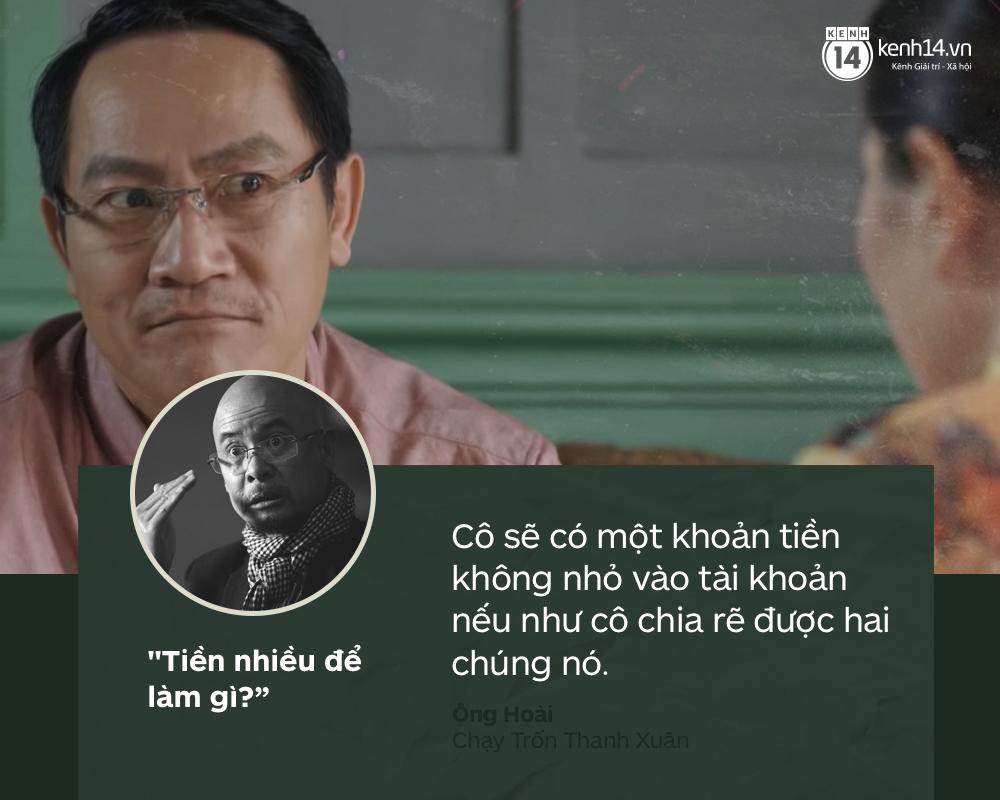 Lắng nghe 5 nhân vật đình đám màn ảnh Việt trả lời câu Tiền nhiều để làm gì? từ Vua cà phê - Ảnh 5.