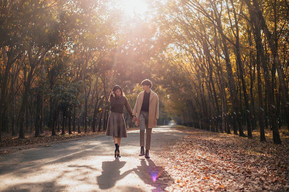 Cực hot: Hướng dẫn đường đi đến rừng cao su lá vàng đẹp như Hàn Quốc cách Sài Gòn chỉ 60km - Ảnh 4.