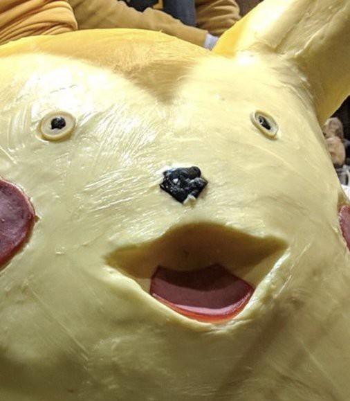 Pikachu làm từ bơ khiến thực khách không thể rời mắt vì vừa dị vừa đáng yêu - Ảnh 3.