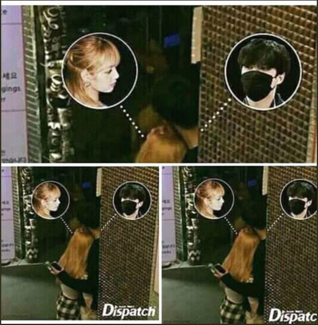 The news that Dispatch launches Lisa (Black Pink) and Lay (EXO) dating, what's the truth? - Picture 1.