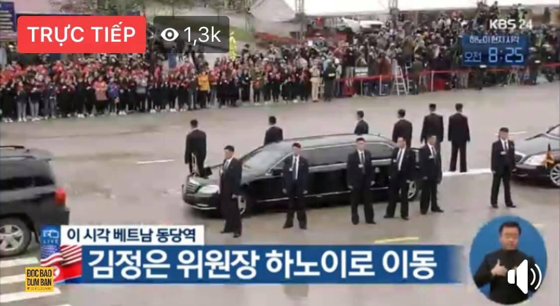 Dàn vệ sĩ tinh nhuệ tái hiện màn chạy bộ ấn tượng bên xe của Chủ tịch Kim Jong-un trước ga Đồng Đăng - Ảnh 6.