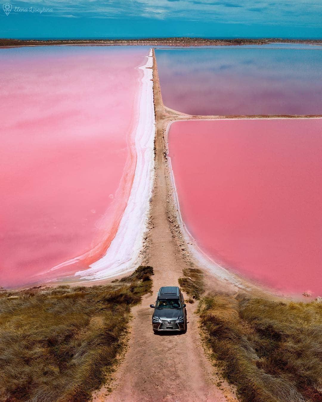 Tương truyền rằng chàng trai nào dẫn bạn gái đến hồ nước màu hồng siêu ảo này sẽ được cô ấy yêu trọn đời - Ảnh 12.