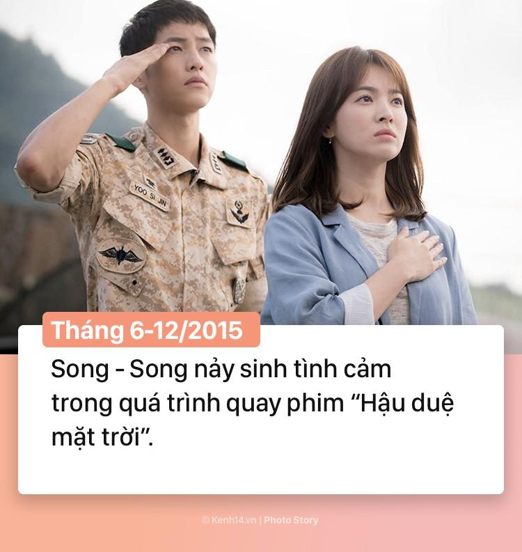 Hành trình 2 năm hôn nhân Song Joong Ki và Song Hye Kyo: Từ cuộc tình thế kỷ trong mơ đến ồn ào chấn động cả châu Á - Ảnh 3.
