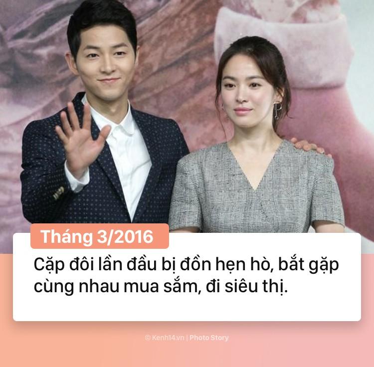 Hành trình 2 năm hôn nhân Song Joong Ki và Song Hye Kyo: Từ cuộc tình thế kỷ trong mơ đến ồn ào chấn động cả châu Á - Ảnh 5.