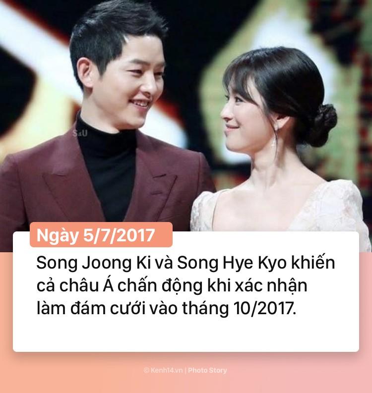 Hành trình 2 năm hôn nhân Song Joong Ki và Song Hye Kyo: Từ cuộc tình thế kỷ trong mơ đến ồn ào chấn động cả châu Á - Ảnh 9.