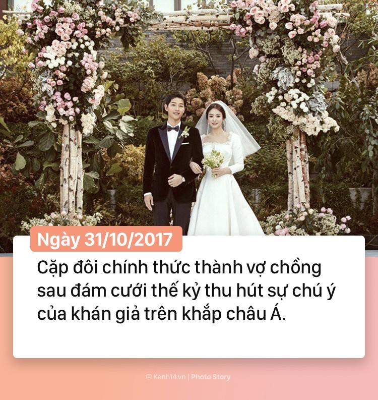 Hành trình 2 năm hôn nhân Song Joong Ki và Song Hye Kyo: Từ cuộc tình thế kỷ trong mơ đến ồn ào chấn động cả châu Á - Ảnh 10.