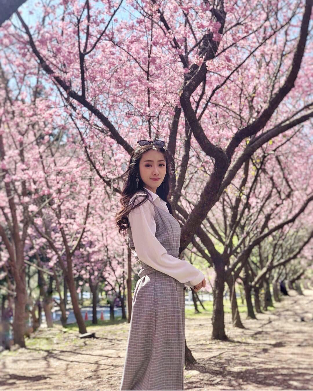 Đài Loan: Hoa anh đào lại nở rợp trời, tạo điều kiện cho trai gái dập dìu chơi xuân - Ảnh 8.