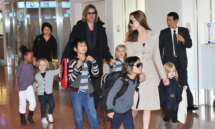 Khung cảnh hiếm hoi: Angelina Jolie đưa cả 6 đứa con đi dự sự kiện và dàn nhóc tỳ xưa kia giờ đã lớn lắm rồi! - Ảnh 13.