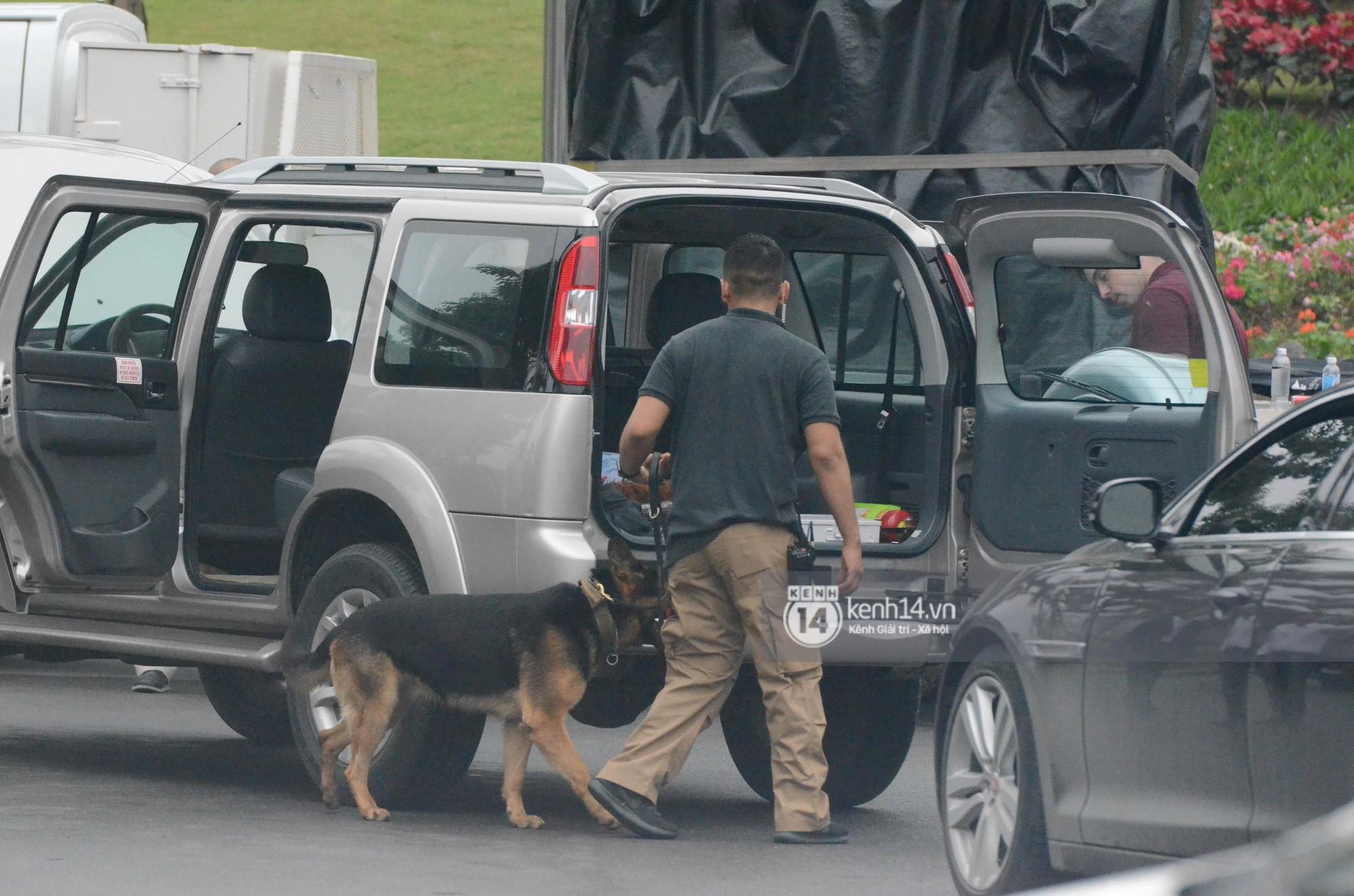An ninh tại khách sạn Marriott được thắt chặt, TT Trump chuẩn bị lên đường gặp gỡ Tổng bí thư, Chủ tịch nước Nguyễn Phú Trọng - Ảnh 6.