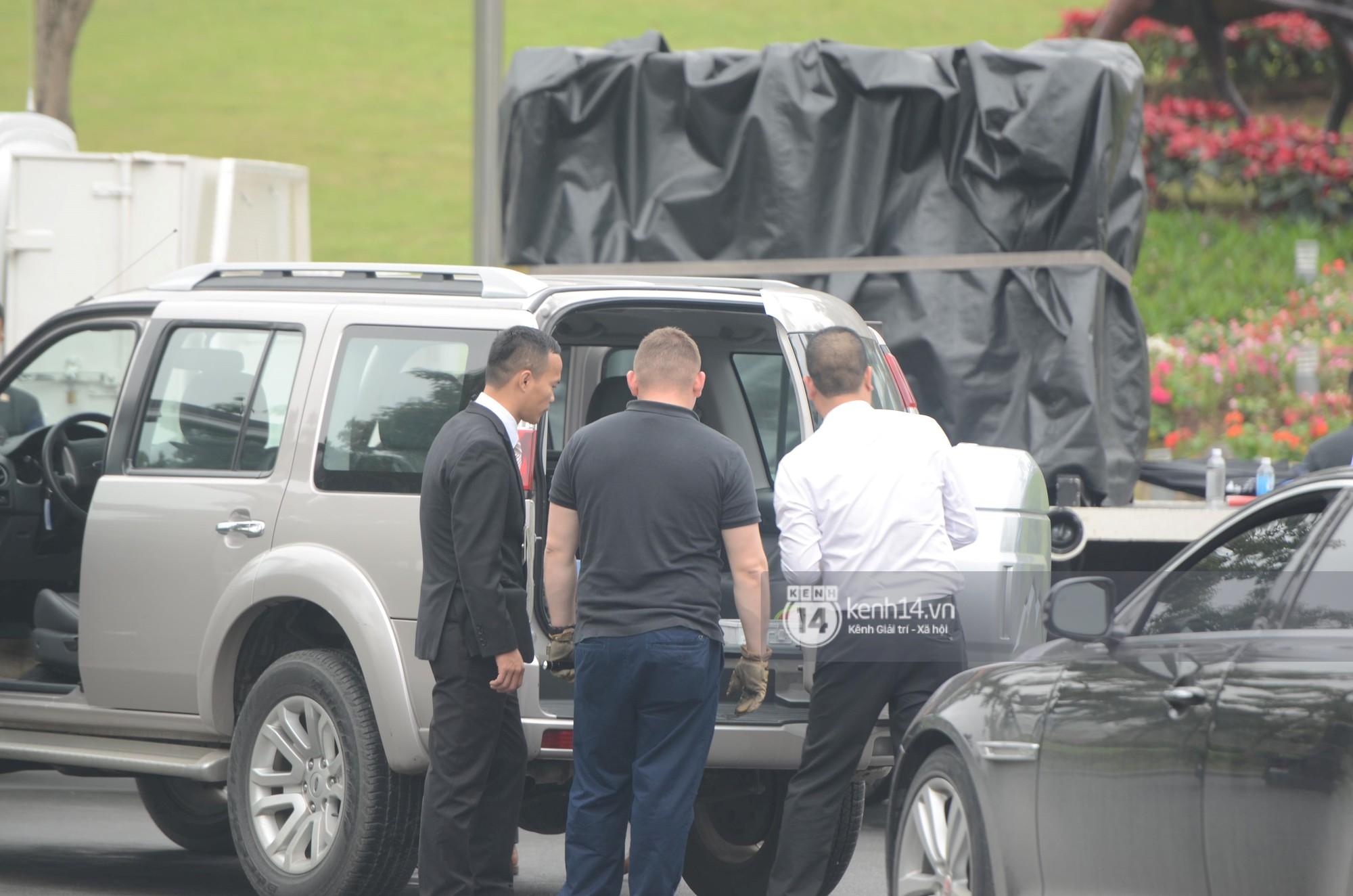 An ninh tại khách sạn Marriott được thắt chặt, TT Trump chuẩn bị lên đường gặp gỡ Tổng bí thư, Chủ tịch nước Nguyễn Phú Trọng - Ảnh 5.