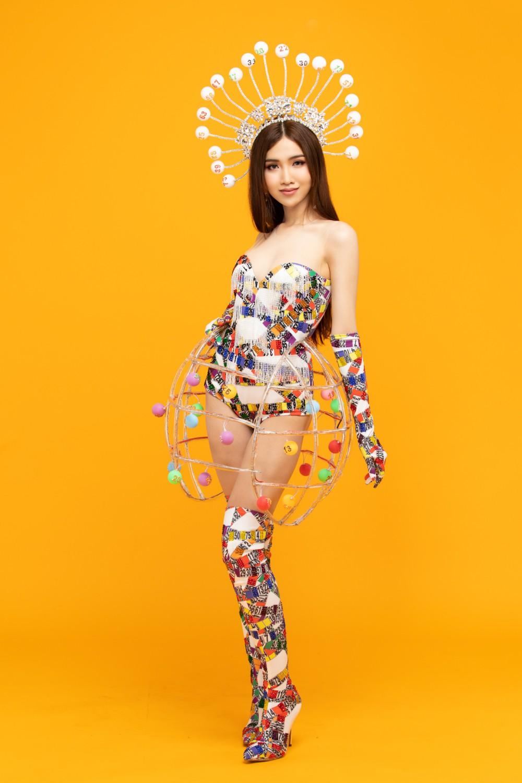 Đại diện Việt Nam có tin vui đầu tiên tại Hoa hậu Chuyển giới Quốc tế, tung trọn quốc phục Lô tô gây tranh cãi! - Ảnh 8.