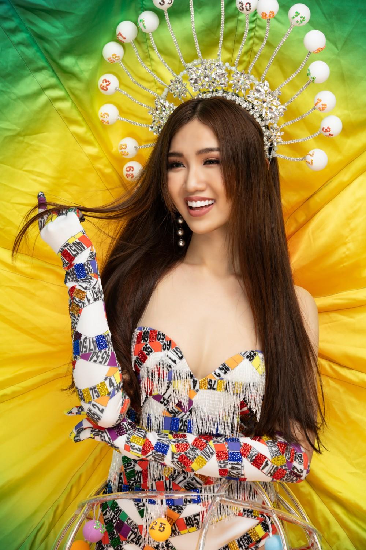Đại diện Việt Nam có tin vui đầu tiên tại Hoa hậu Chuyển giới Quốc tế, tung trọn quốc phục Lô tô gây tranh cãi! - Ảnh 5.