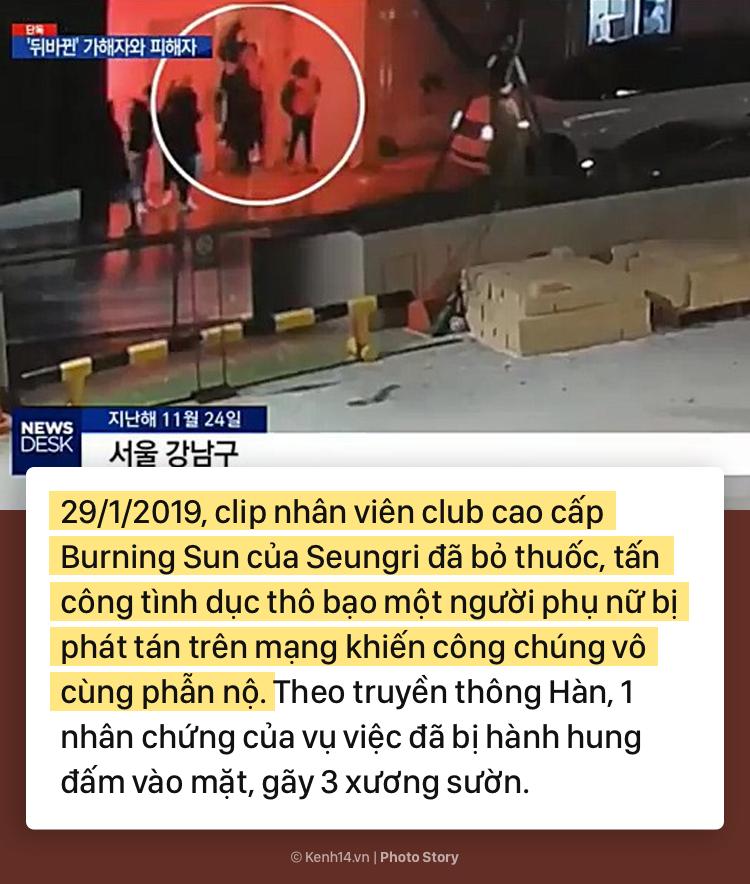Nhìn lại chuỗi scandal liên tiếp nhấn chìm Seungri trong những tháng đầu năm 2019 - Ảnh 3.