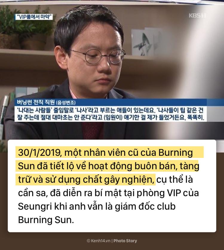 Nhìn lại chuỗi scandal liên tiếp nhấn chìm Seungri trong những tháng đầu năm 2019 - Ảnh 9.