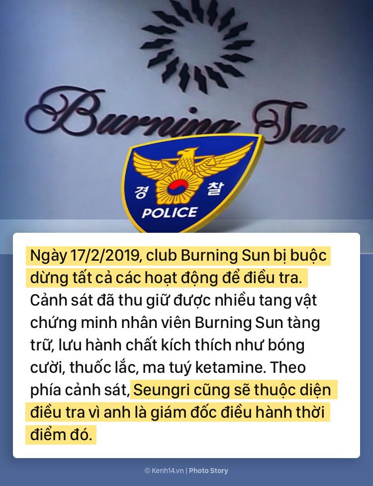 Nhìn lại chuỗi scandal liên tiếp nhấn chìm Seungri trong những tháng đầu năm 2019 - Ảnh 15.