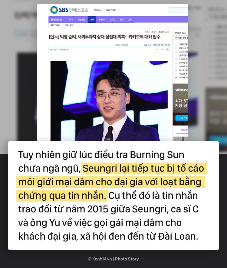 Nhìn lại chuỗi scandal liên tiếp nhấn chìm Seungri trong những tháng đầu năm 2019 - Ảnh 17.