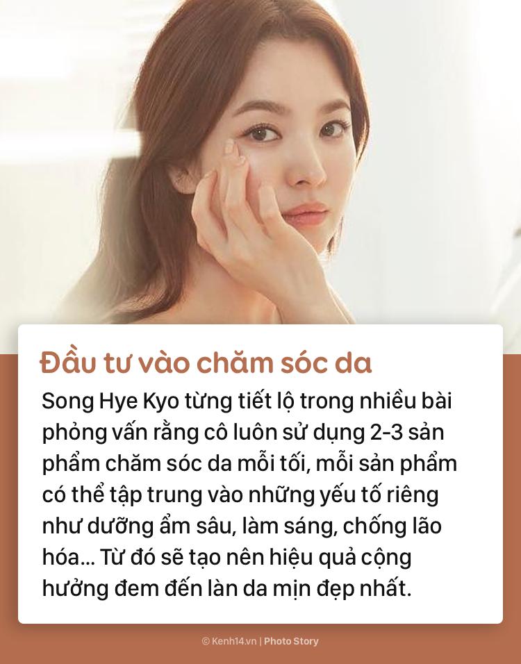 Song Hye Kyo mách bạn bí quyết giữ nhan sắc tươi trẻ dài lâu - Ảnh 7.