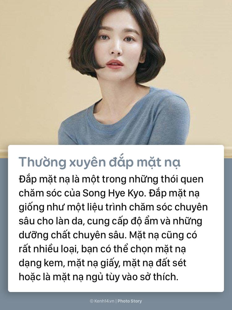 Song Hye Kyo mách bạn bí quyết giữ nhan sắc tươi trẻ dài lâu - Ảnh 5.