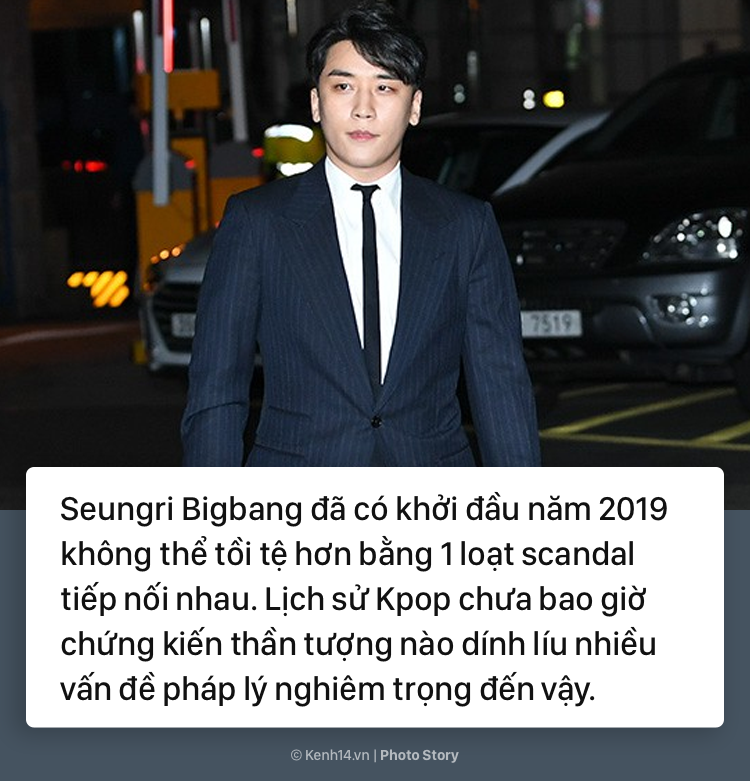 Nhìn lại chuỗi scandal liên tiếp nhấn chìm Seungri trong những tháng đầu năm 2019 - Ảnh 1.