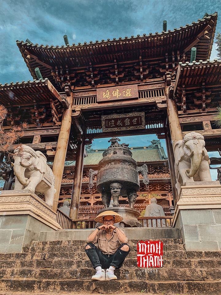 Chưa đi Nhật cũng đừng buồn, Việt Nam có hẳn 3 phiên bản chùa chiền có kiến trúc độc đáo cộp mác xứ sở mặt trời mọc đây này! - Ảnh 10.