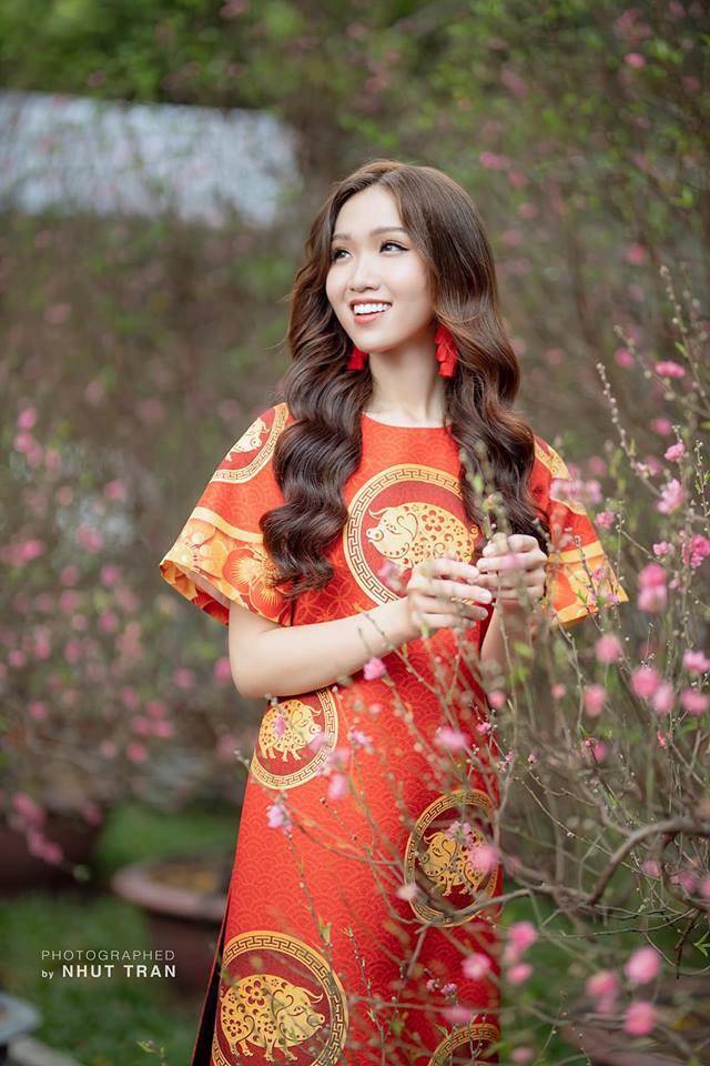 Nhật Hà diện Áo dài, tự tin nói về Tết Việt bằng tiếng Anh trong clip giới thiệu tại Miss International Queen 2019 - Ảnh 2.