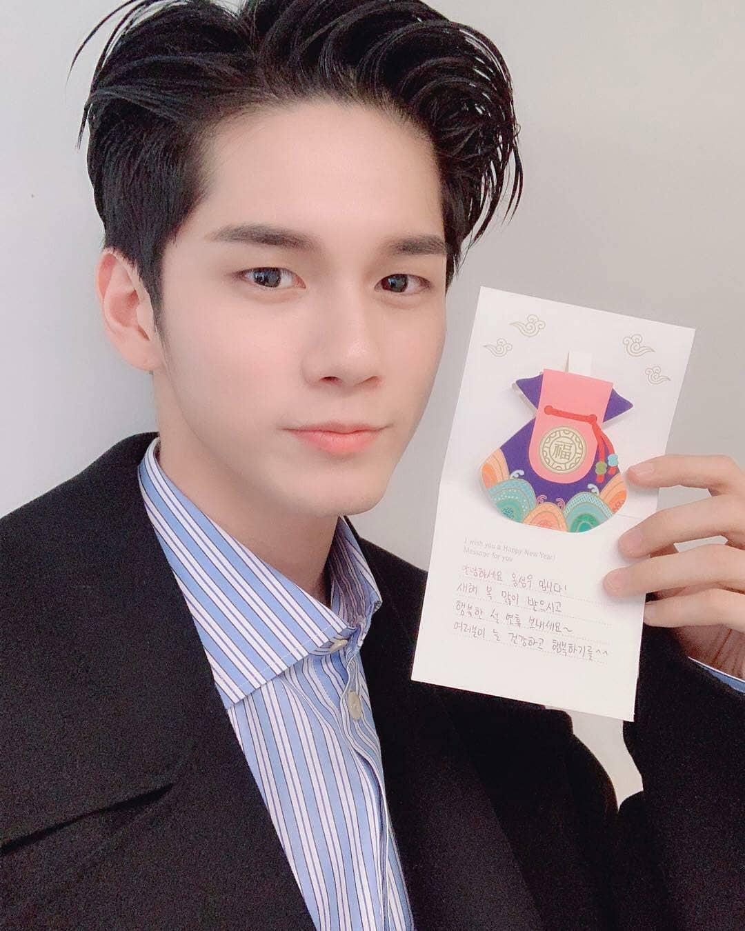 SNSD, BTS và dàn sao Hàn đồng loạt chúc Tết: Người bận bịu vẫn chụp ảnh tặng fan, người diện hanbok đón Xuân - Ảnh 10.