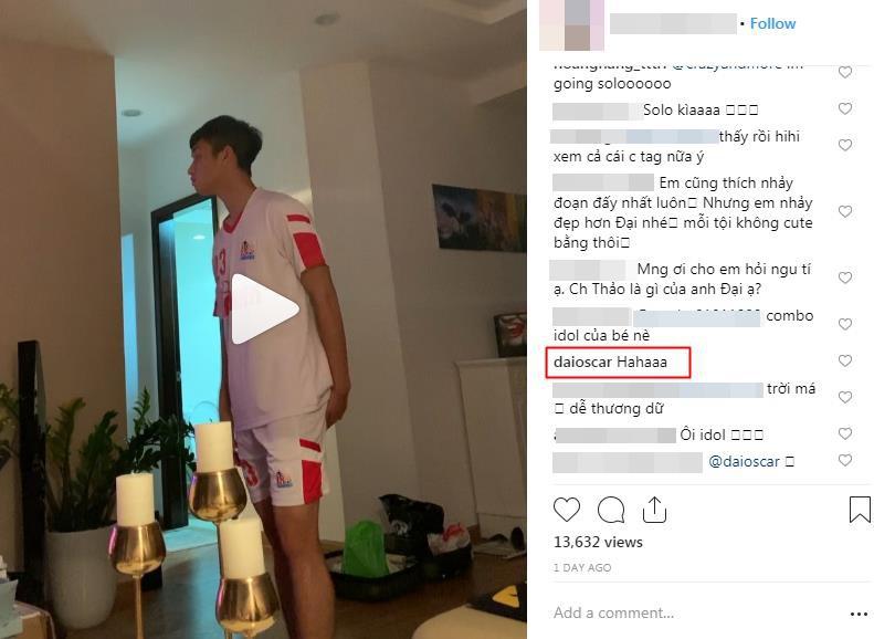 """Vừa khai xuân, Trọng Đại U23 lóng ngóng trổ tài cover """"SOLO"""" (Jennie) cực đáng yêu! - Ảnh 4."""