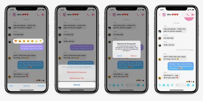 Facebook Messenger đã cho phép unsend tin nhắn hoàn toàn, mau vào test với gấu cũ thử xem - Ảnh 1.