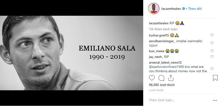 Dàn sao nổi tiếng thế giới bóng đá khóc thương cho số phận bi thảm của Sala, tiền đạo tử nạn sau vụ rơi máy bay bí ẩn - Ảnh 7.