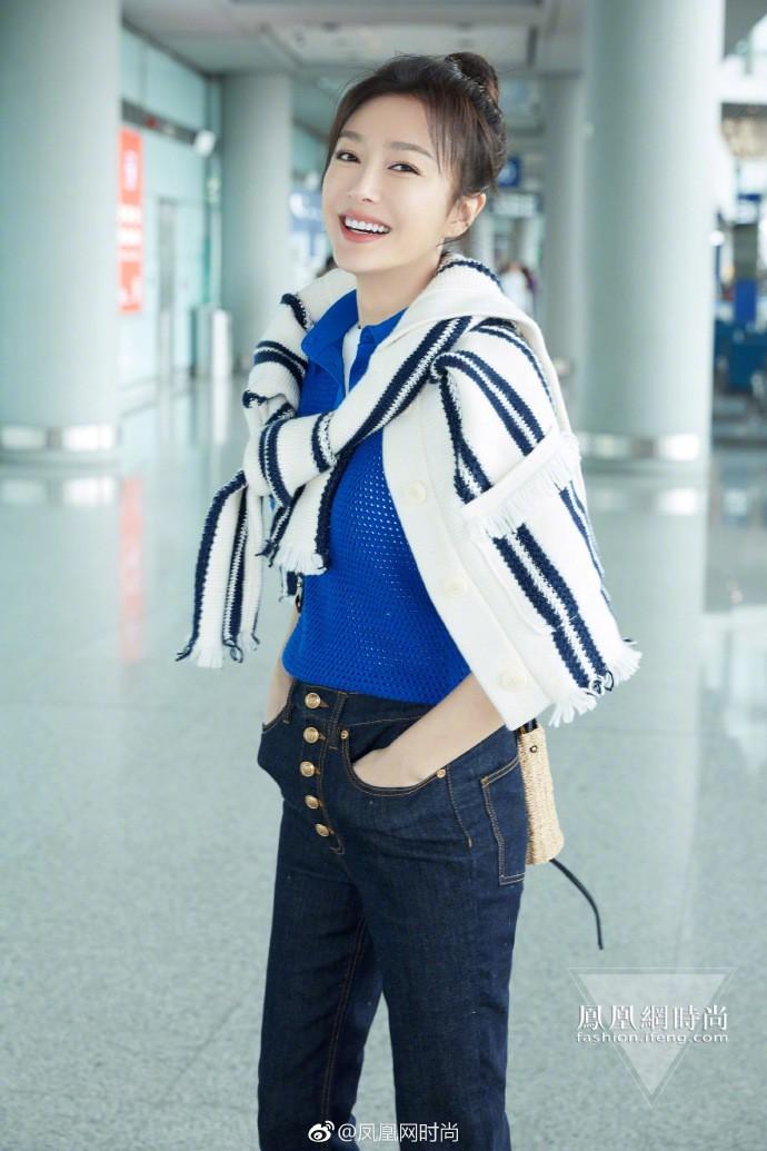 Ăn hết 3 ngày Tết, Hoàng hậu Tần Lam đã lên đường sang New York dự tuần lễ thời trang - Ảnh 4.