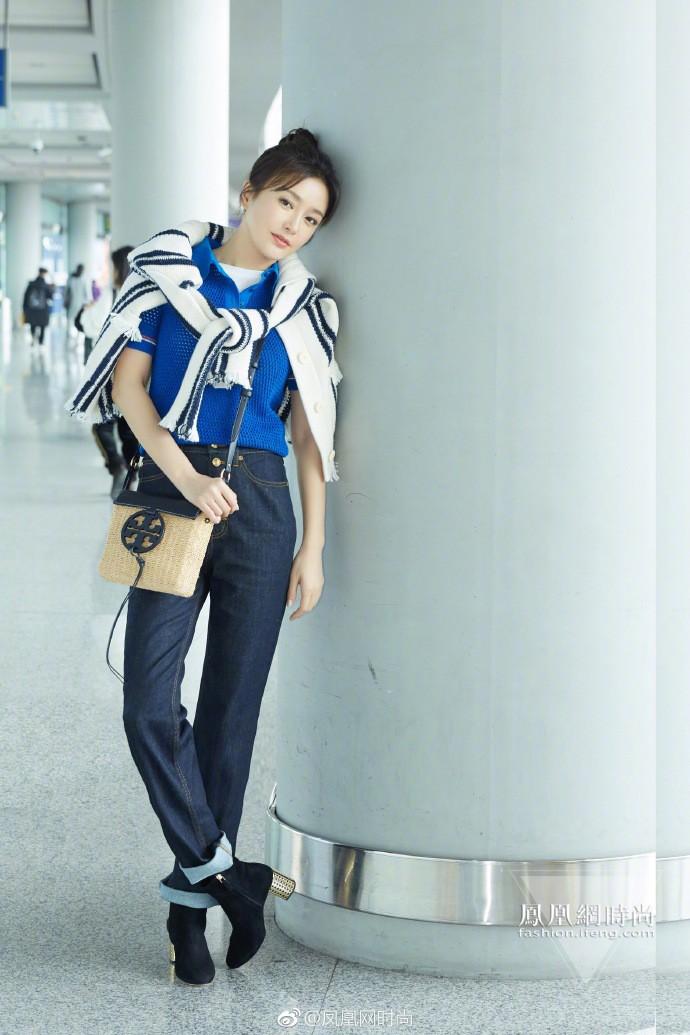 Ăn hết 3 ngày Tết, Hoàng hậu Tần Lam đã lên đường sang New York dự tuần lễ thời trang - Ảnh 5.