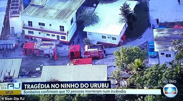 Hỏa hoạn lúc rạng sáng khiến 10 cầu thủ trẻ thiệt mạng ở Brazil - Ảnh 1.