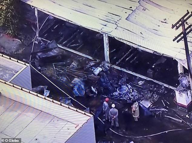 Hỏa hoạn lúc rạng sáng khiến 10 cầu thủ trẻ thiệt mạng ở Brazil - Ảnh 2.