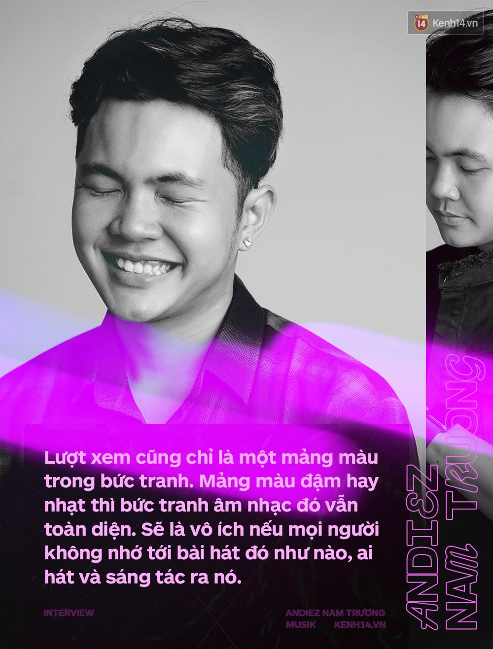 Andiez Nam Trương: Suýt từ bỏ âm nhạc vì thấy mình bất tài, không có nổi 50 ngàn đổ xăng, phải đi mượn bạn gái - Ảnh 3.