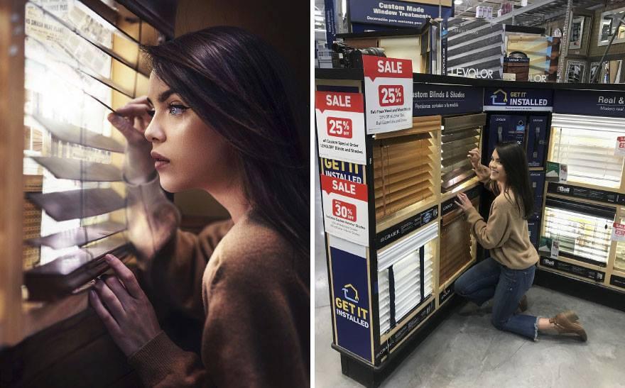 Lại có thêm thánh Photoshop giáng trần: Chụp bạn gái vịt bầu hóa thiên nga trong một nốt nhạc - Ảnh 5.