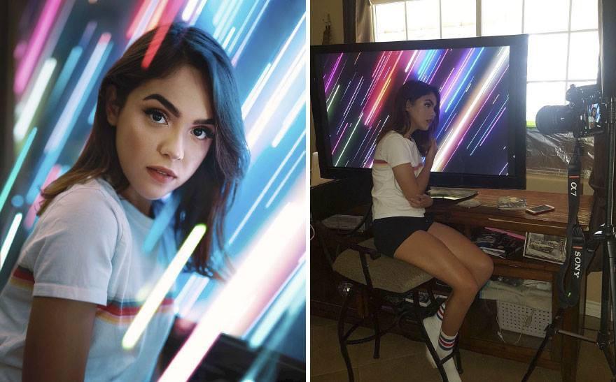 Lại có thêm thánh Photoshop giáng trần: Chụp bạn gái vịt bầu hóa thiên nga trong một nốt nhạc - Ảnh 7.