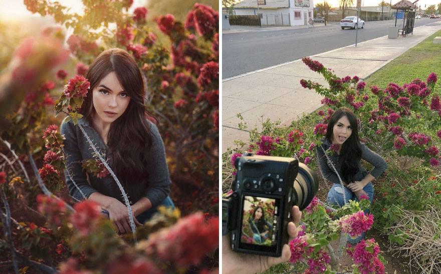 Lại có thêm thánh Photoshop giáng trần: Chụp bạn gái vịt bầu hóa thiên nga trong một nốt nhạc - Ảnh 8.