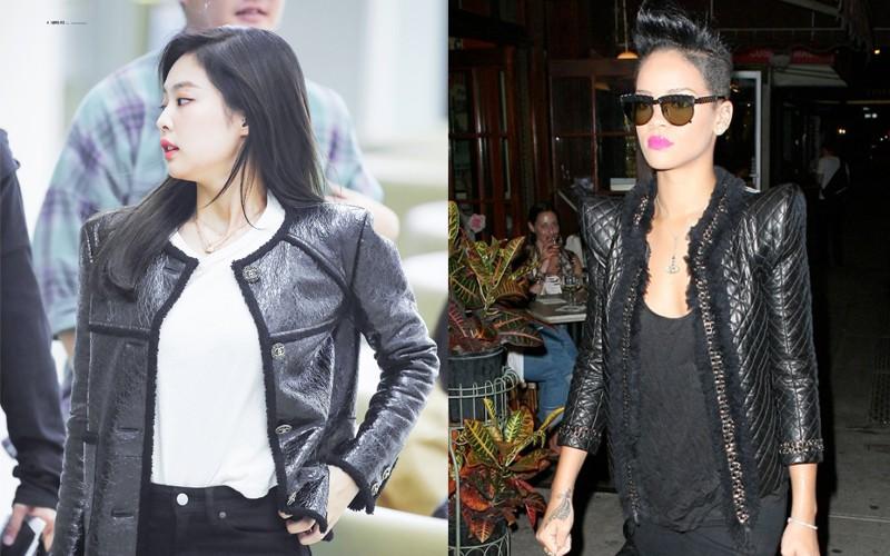 Dù chẳng liên quan nhưng thi thoảng, style của Jennie và Rihanna cũng có chút tương đồng nhẹ - Ảnh 4.