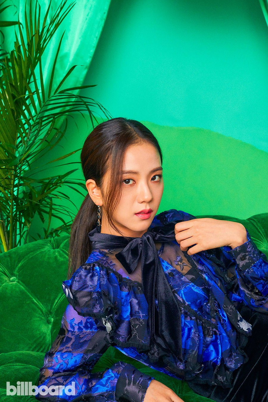 Black Pink was the first female Kpop girl to cover Billboard magazine's cover: beauty and charisma peak here! - Photo 10.