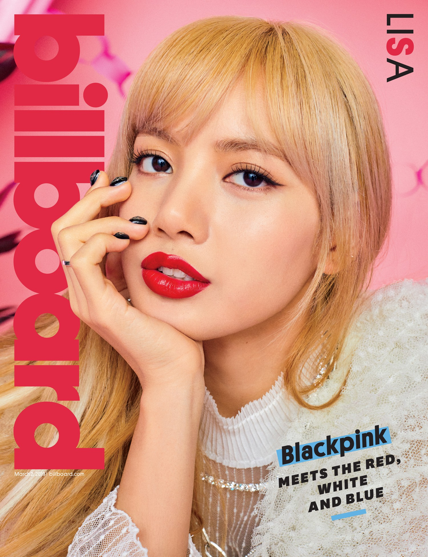 Black Pink was the first female Kpop girl to cover Billboard magazine's cover: beauty and charisma peak here! - Photo 6.