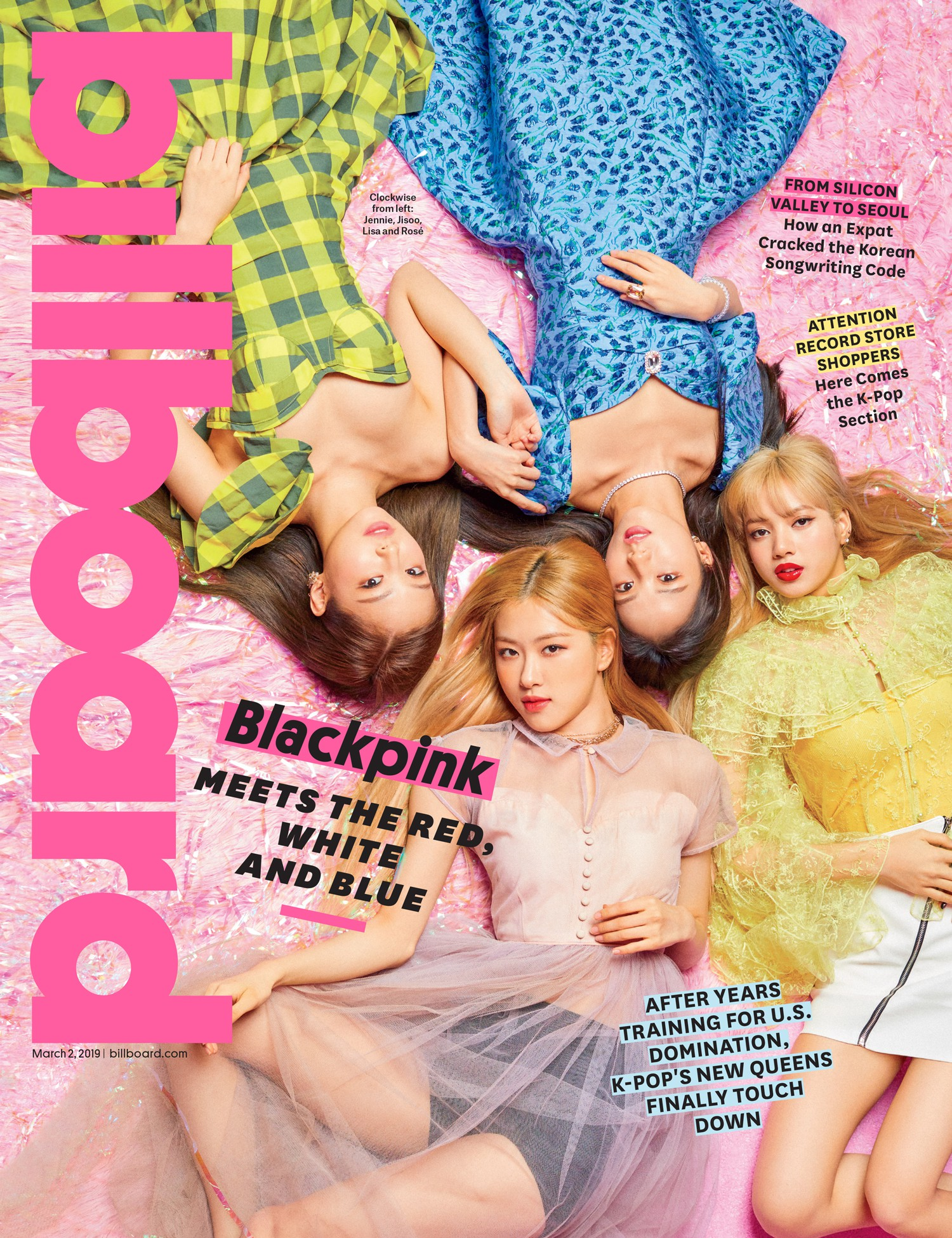 Black Pink was the first female Kpop girl to cover Billboard magazine's cover: beauty and charisma peak here! - Photo 1