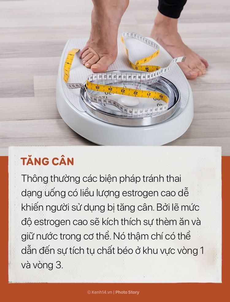 Tăng cân, buồn nôn và những tác dụng phụ thường gặp khi dùng thuốc tránh thai - Ảnh 11.